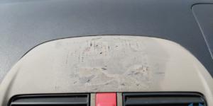 ホンダ ライフ 塗装部分の ダッシュボードリペア -トータルリペア リペスタ-