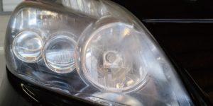 トヨタ プリウス(ZVW30)へヘッドライトコーティング の ヘッドライトスチーマー にてリペア -岡山 トータルリペア リペスタ -