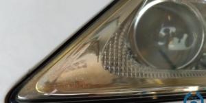 レクサス LS  ヘッドライトスチーマー クラック除去 -岡山 トータルリペア リペスタ -