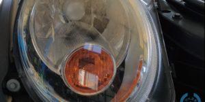 BMW MINI ヘッドライトコーティングの ヘッドライトスチーマー ~岡山 トータルリペア リペスタ~