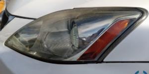 レクサス ヘッドライト コーティング IS250 クラック除去も