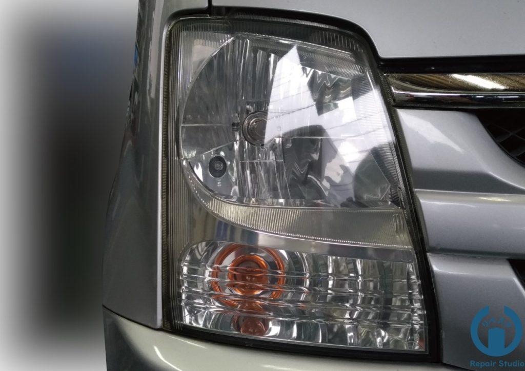 岡山 倉敷 ヘッドライトコーティング ワゴンR
