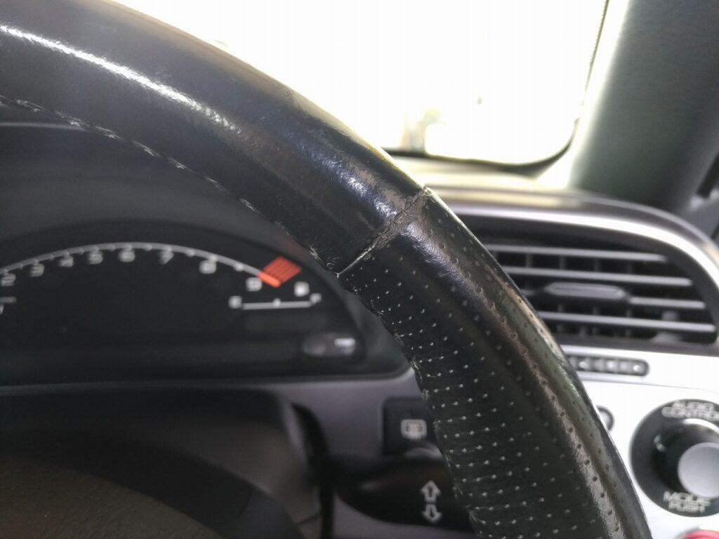 S2000 ステアリング 擦れ リペア