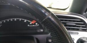 S2000 ステアリング 擦れ の リペア