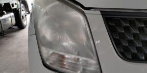 ワゴンR ヘッドライトコーティング